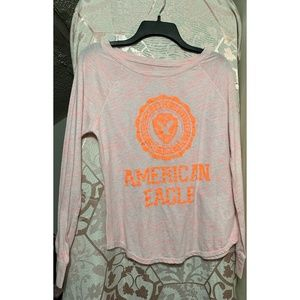 Pink and Orange American Eagle